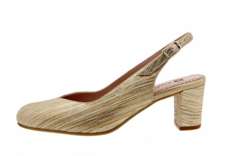 Court shoe Snake Beige 1210