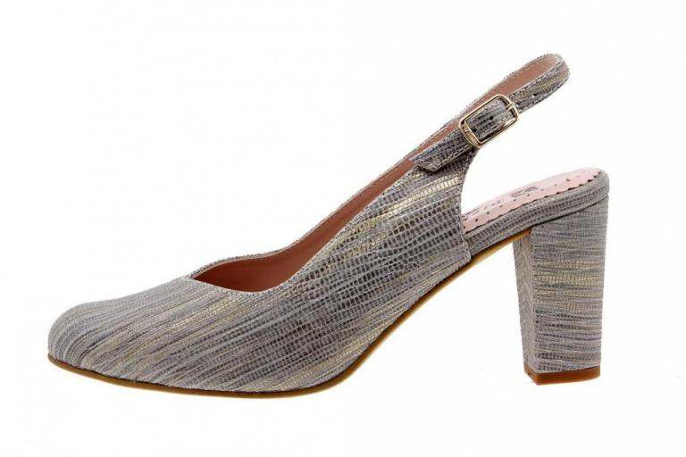Court shoe Snake Grey 1210
