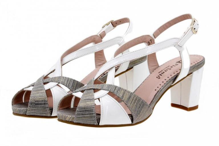 Heel Sandal Snake Grey 1256