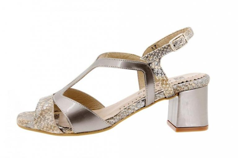 Heel Sandal Snake Tan 1495