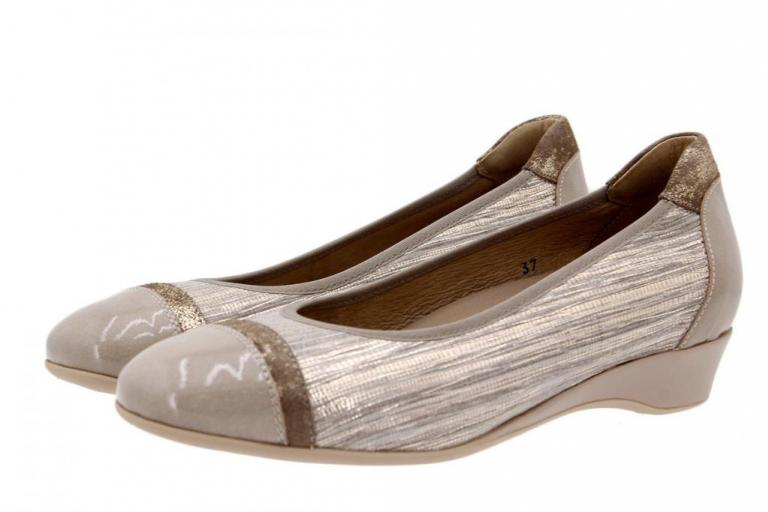 Flat shoe Patent Mink 1723