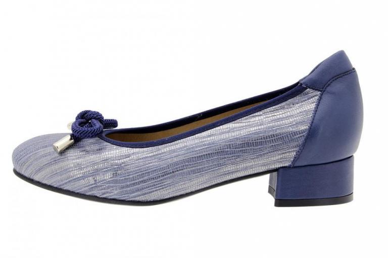 Flat shoe Snake Blue
