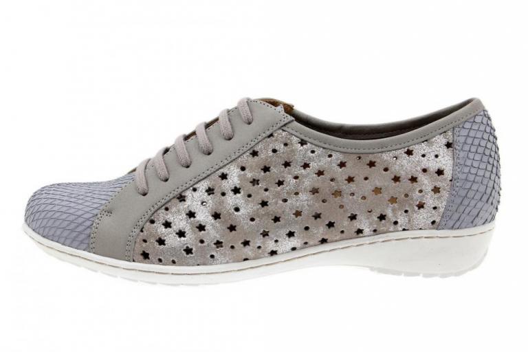 Tie shoe Print Pearl