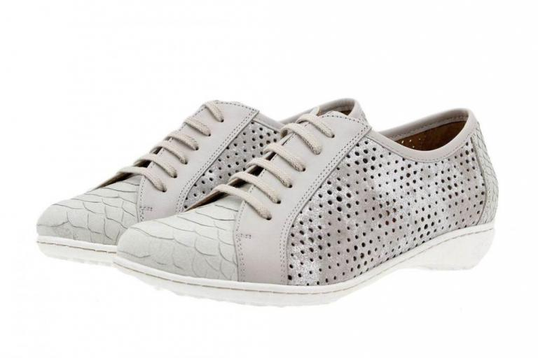 Lace-up Shoe Pearl Snake