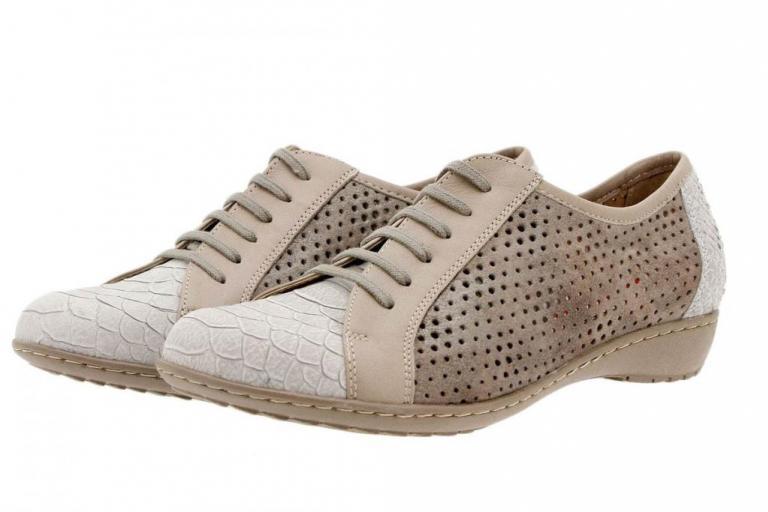 Tie shoe Snake Mink 1752
