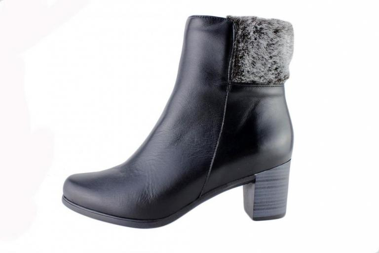 Ankle Boot Black Leather 175871
