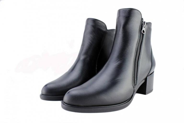 Ankle Boot Black Leather 175942