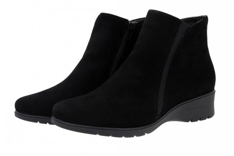 Ankle Boot Suede Black 175976
