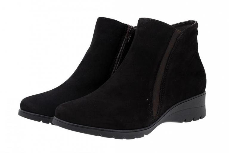 Ankle Boot Suede Brown 175976