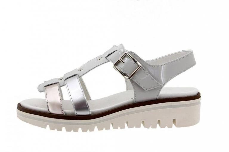 Removable Insole Sandal Pearl Patent