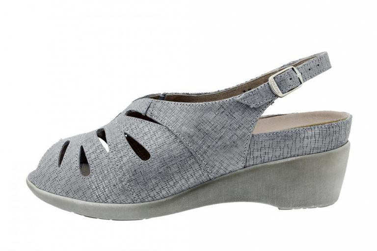 Removable Insole Sandal Print Grey 180154