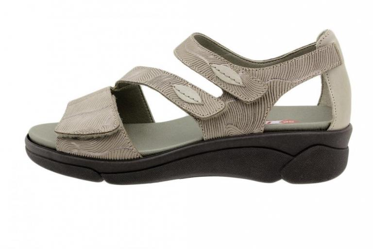 Removable Insole Sandal Mink Leather 180517