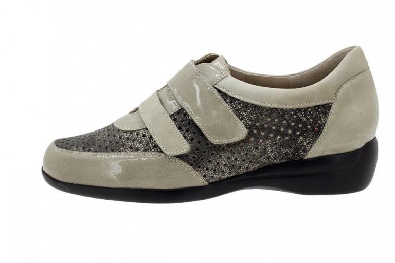 Velcro Shoe Mink Patent 180676