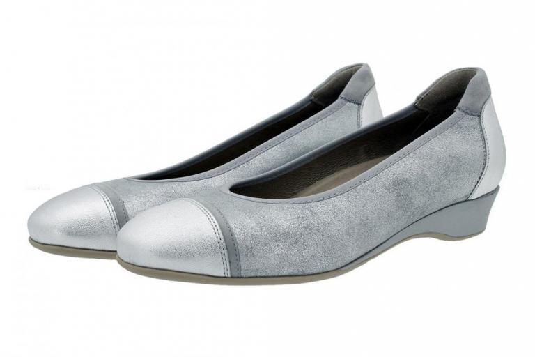 Ballerina Silver Metal 180723