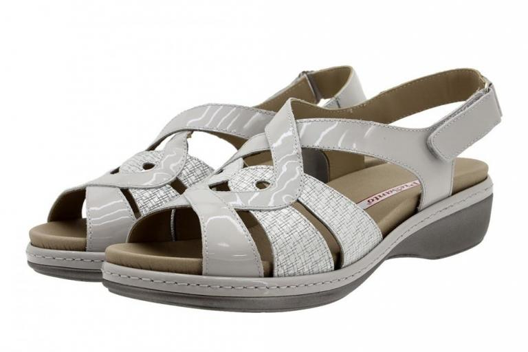 Removable Insole Sandal Pearl Patent 180823
