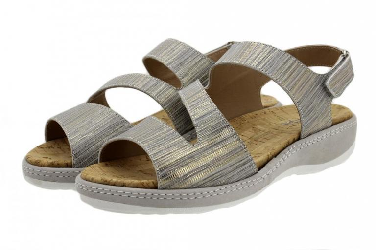 Removable Insole Sandal Grey Print 180904