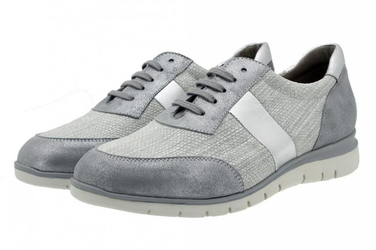 Sneaker Grey Metal Suede 180991