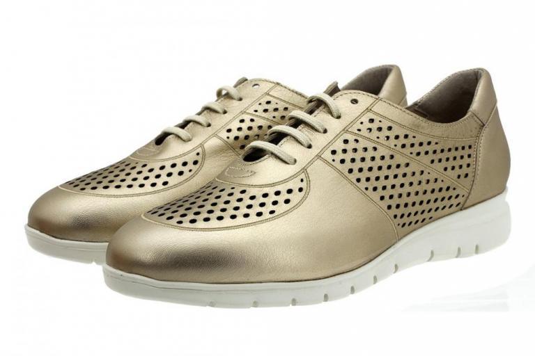 Sneaker Platinum Metal Suede 180992