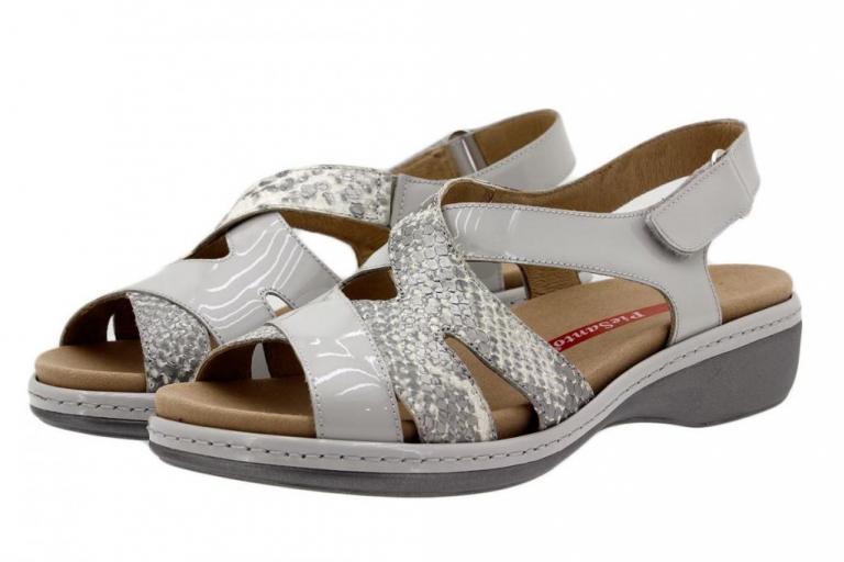 Removable Insole Sandal Patent Pearl 1813