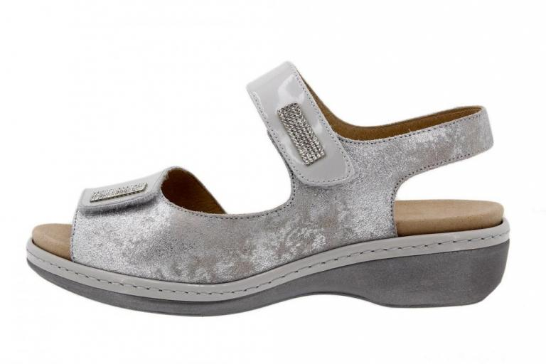 Removable Insole Sandal Patent Pearl 1818