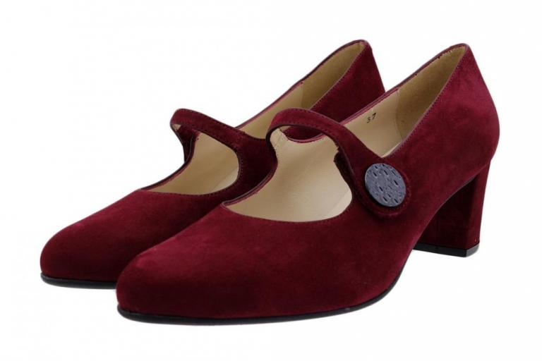 Mary-Jane Ruby Suede 185234