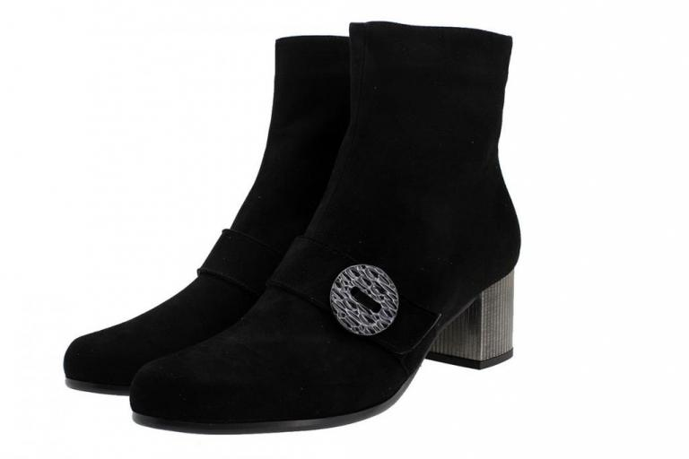Ankle Boot Black Suede 185386