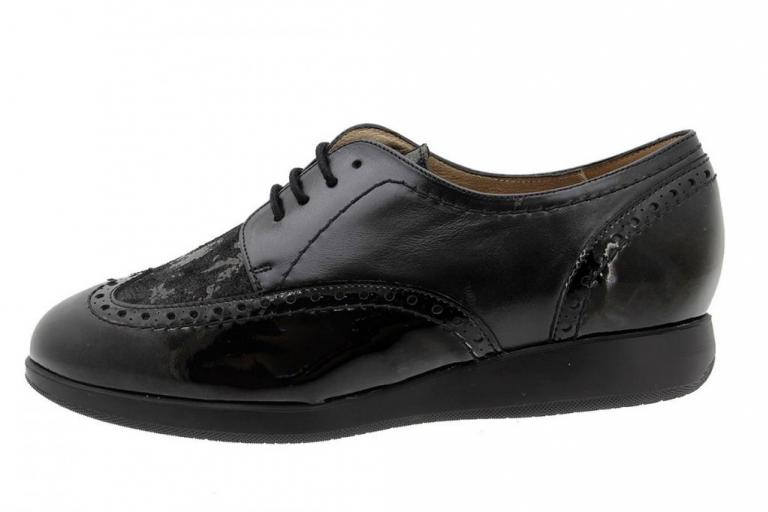 Lace-up Shoe Black Patent 185540
