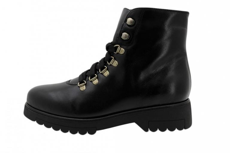Ankle Boot Black Leather 185672