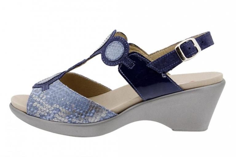 Removable Insole Sandal Jeans Snake