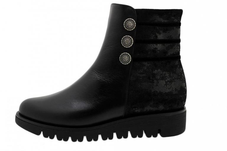 Ankle Boot Black Leather 185719