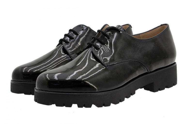 Lace-up Shoe Black Patent 185731