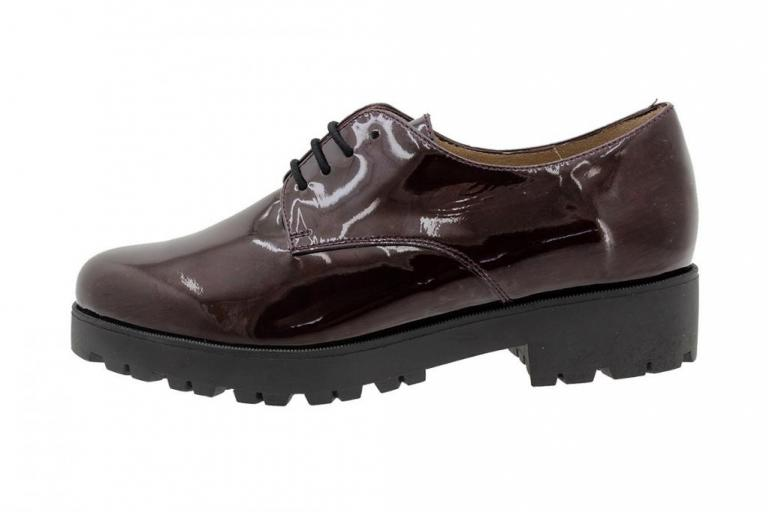 Lace-up Shoe Bordeaux Patent 185731