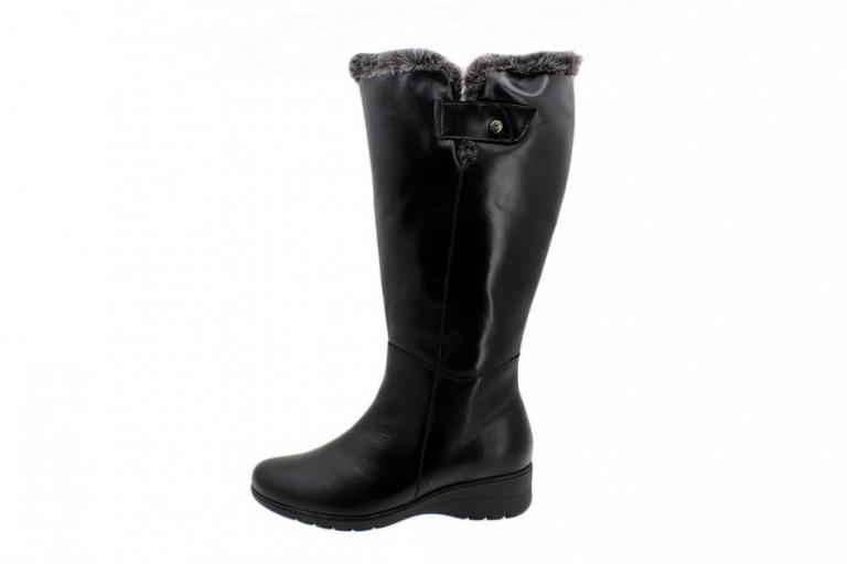 Boot Black Leather 185981