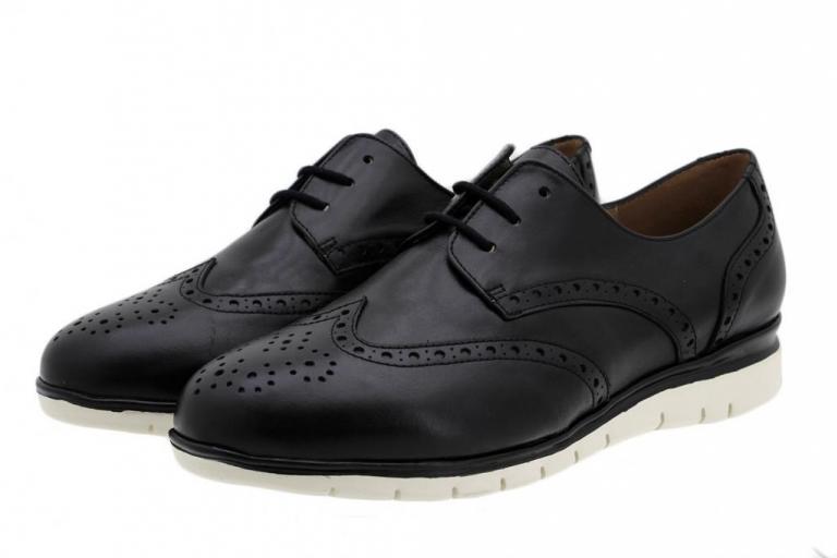 Sneaker Black Leather 185990