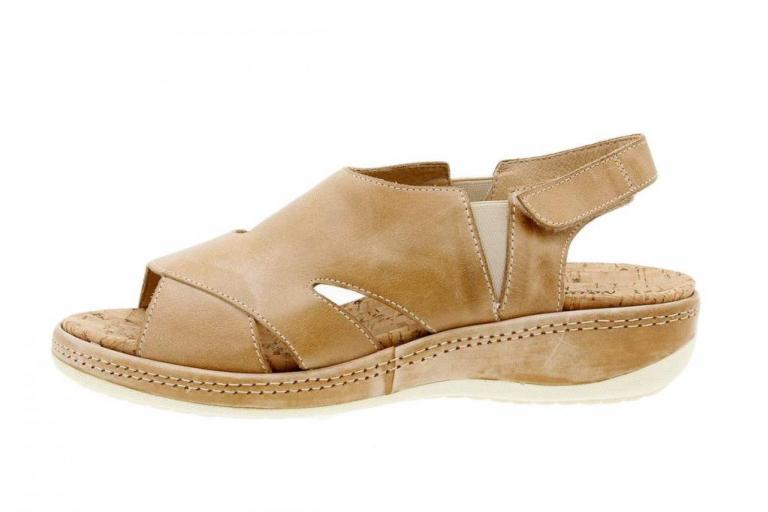 Removable Insole Sandal Leather Beige 1903