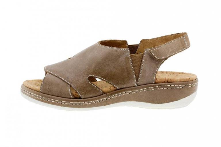 Removable Insole Sandal Leather Mink 1903