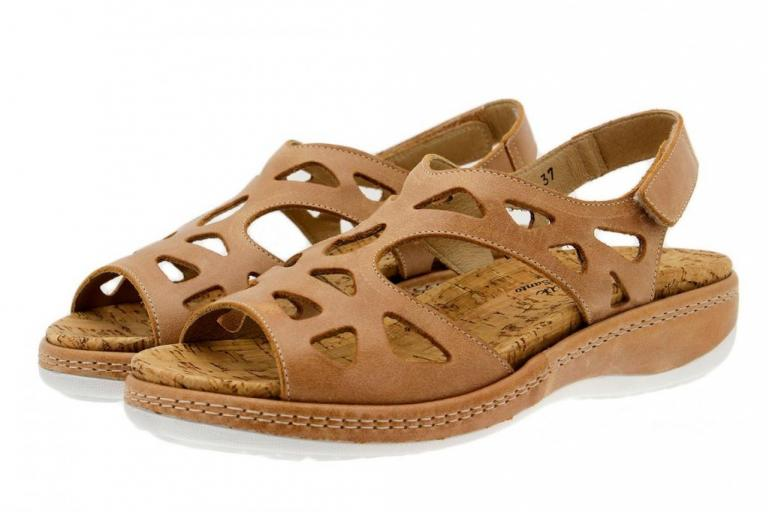 Removable Insole Sandal Leather Tan 1905