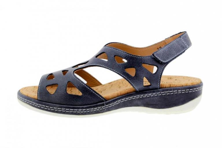 Removable Insole Sandal Leather Carbon 1905