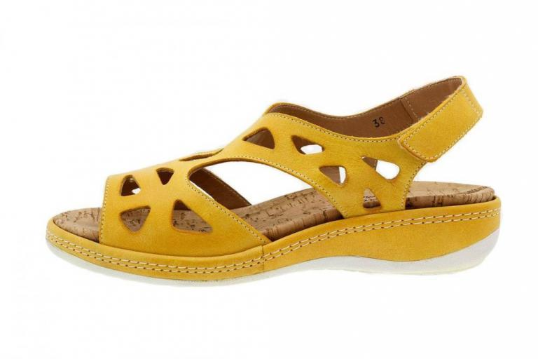 Removable Insole Sandal Mango Leather