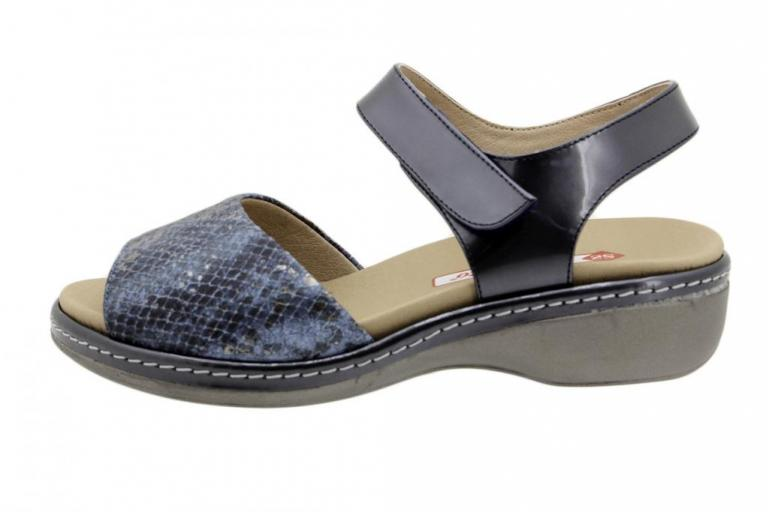 Removable Insole Sandal Jeans Snake 190801