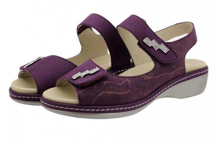 Removable Insole Sandal Lilac Nubuck 190818