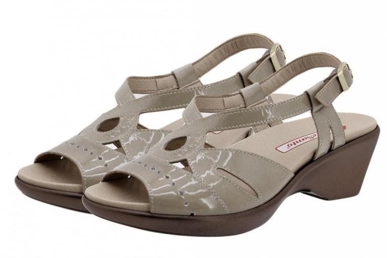 Removable Insole Sandal Mink Patent 190852