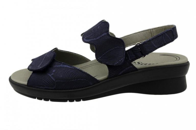 Removable Insole Sandal Blue Leather 190890
