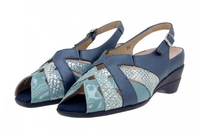 Removable Insole Sandal Pearly Blue 4153