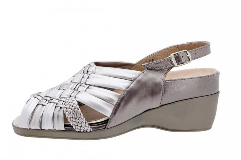 Removable Insole Sandal Pearly Titanium 4182