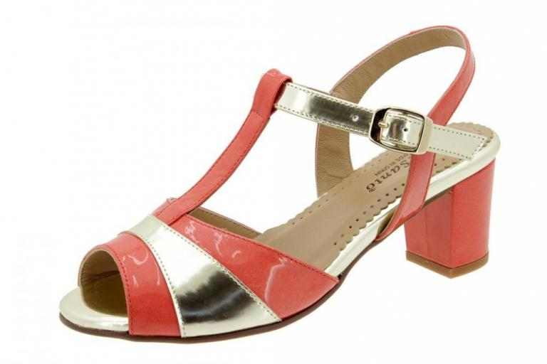Heel Sandal Patent Cherry 4494