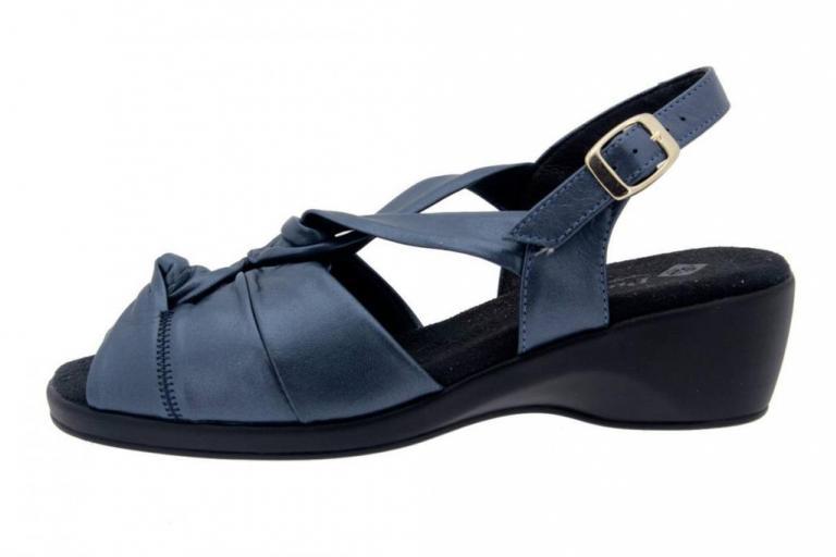 Wegde Sandal Pearly Blue 4581