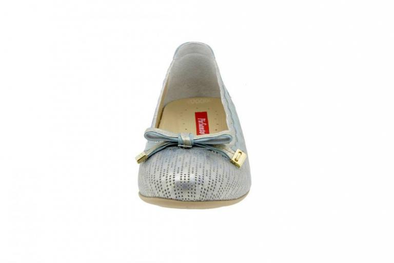 Flat shoe Patent Aqua 4725