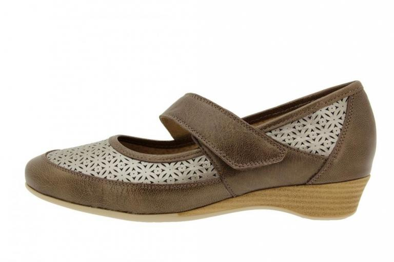 Mary-Jane Pearly Taupe 4731