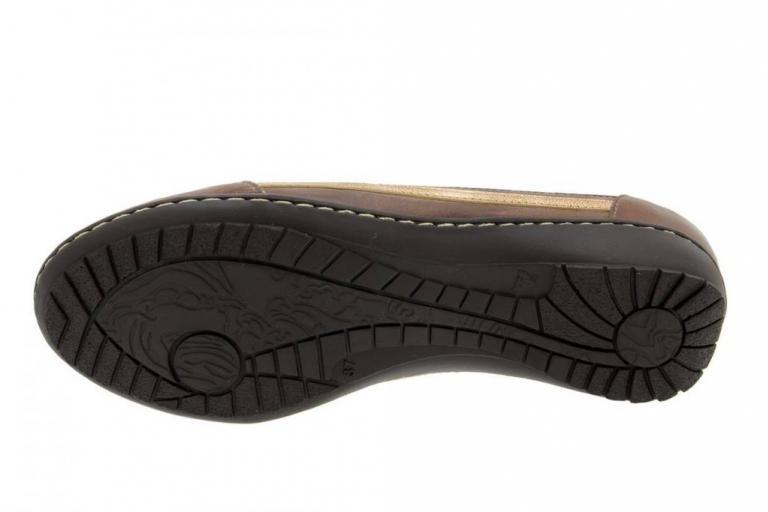 Zapato Cordón Piel Café 4751